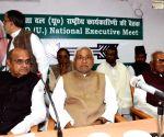 JD(U) executive meeting