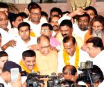 BJP's MLC candidate Radha Mohan Sharma files nomination