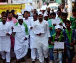 JDU workers' anti-liquor awareness rally