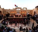 JORDAN-JERASH-CULTURE AND ARTS FESTIVAL-OPENING