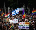 MIDEAST-JERUSALEM-GAY PRIDE PARADE