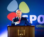 MIDEAST JERUSALEM ISRAEL PM GPO NEW YEAR'S TOAST FOREIGN MEDIA SPEECH