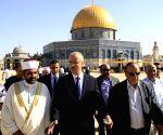 MIDEAST JERUSALEM RAMADAN PALESTINIAN PM