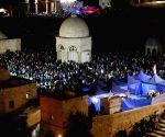 MIDEAST JERUSALEM RAMADAN LAYLAT AL QADR