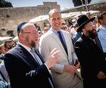 MIDEAST JERUSALEM UK PRINCE WILLIAM VISIT