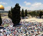 MIDEAST JERUSALEM RAMADAN
