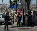 MIDEAST-JERUSALEM-PALESTINIAN CAR ATTACK