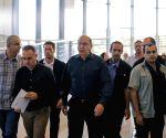 MIDEAST-ISRAEL-DEFENSE MINISTER RESIGNATION