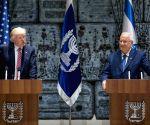 MIDEAST JERUSALEM RIVLIN TRUMP MEET