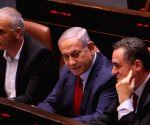 MIDEAST JERUSALEM ISRAELI PARLIAMENT DISSOLUTION
