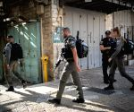 MIDEAST JERUSALEM STABBING ATTACK