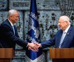 MIDEAST JERUSALEM BENNY GANTZ MANDATE NEW GOVERNMENT