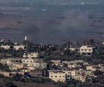 MIDEAST-GOLAN HEIGHTS-SYRIAN CIVIL WAR