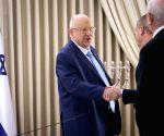 MIDEAST JERUSALEM ISRAEL PRESIDENT NEXT PM TALKS