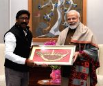 Jharkhand CM Soren calls on PM Modi