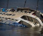 CHINA HUBEI SHIP SINKING RESCUE