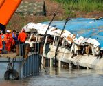 CHINA HUBEI CAPSIZED SHIP HOIST