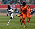 CHINA-SHANDONG-JINAN-AFC CHAMPIONS LEAGUE-PLAY OFF-LUNENG VS HANOI FC
