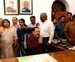 Jitendra Singh takes charge as MoS Personnel, Public Grievances & Pensions (I/C)