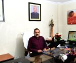 Jitendra Singh takes charge as MoS Development of North Eastern Region (I/C)