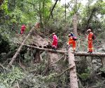 CHINA SICHUAN JIUZHAIGOU QUAKE RESCUE