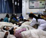CHINA SICHUAN JIUZHAIGOU EARTHQUAKE RESCUE