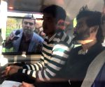 Sharjeel Imam produced before magistrate at residence