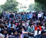 JNU students' protest continues
