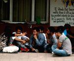JNU students' demonstration
