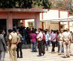 JNU student Muthukrishnan's post-mortem at AIIMS