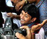 Kanhaiya Kumar in Kolkata