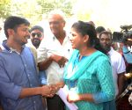 Kanhaiya Kumar arrives at University of Hyderabad