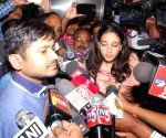 Kanhaiya Kumar in Hyderabad