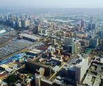 SOUTH AFRICA-DURBAN-AERIAL VIEW