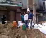 Joharpuri in N-E Delhi continues to burn despite heavy security