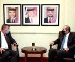 Jordan discusses financial support issues with UNRWA