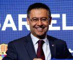 Josep Bartomeu steps down as Barcelona FC president