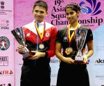 19th Asian Squash Championships - Joshna Chinappa, Max Lee