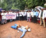 Doctors at Osmania General Hospital protest against NMC Bill