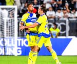 Juventus snatch first win in Serie A