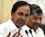 Telangana CM files nomination for Gajwel assembly seat