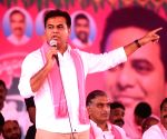 KCR's son appears set to be his successor