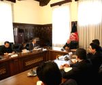 AFGHANISTAN-KABUL-ASHRAF GHANI-CHINA-WANG YI-MEETING