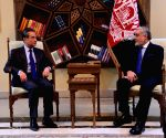 AFGHANISTAN-KABUL-CHIEF EXECUTIVE-CHINA-WANG YI-MEETING