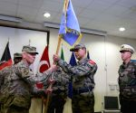 AFGHANISTAN KABUL AIRPORT CHANGE OF COMMAND CEREMONY