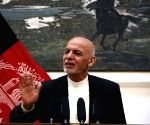 AFGHANISTAN KABUL PRESIDENT PRESS CONFERENCE