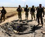 AFGHANISTAN BAGRAM SUICIDE ATTACK