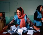 AFGHANISTAN KABUL PRESIDENTIAL ELECTION TALLYING