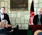 AFGHANISTAN KABUL U.S. DEFENSE SECRETARY VISIT