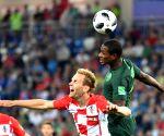 RUSSIA-KALININGRAD-2018 WORLD CUP-GROUP D-CROATIA VS NIGERIA